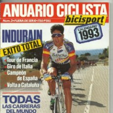 Colecionismo desportivo: ANUARIO CICLISTA 1993. Lote 263029750