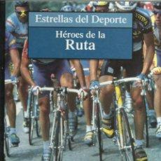 Colecionismo desportivo: HEROES DE LA RUTA CICLISMO. Lote 264191204