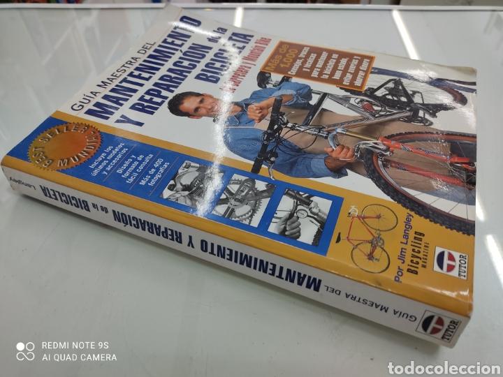 Coleccionismo deportivo: GUIA MAESTRA DEL MANTENIMIENTO Y REPARACION DE LA BICICLETA DE CARRETERA Y MOUNTAIN BIKE Jim Langley - Foto 2 - 265956593