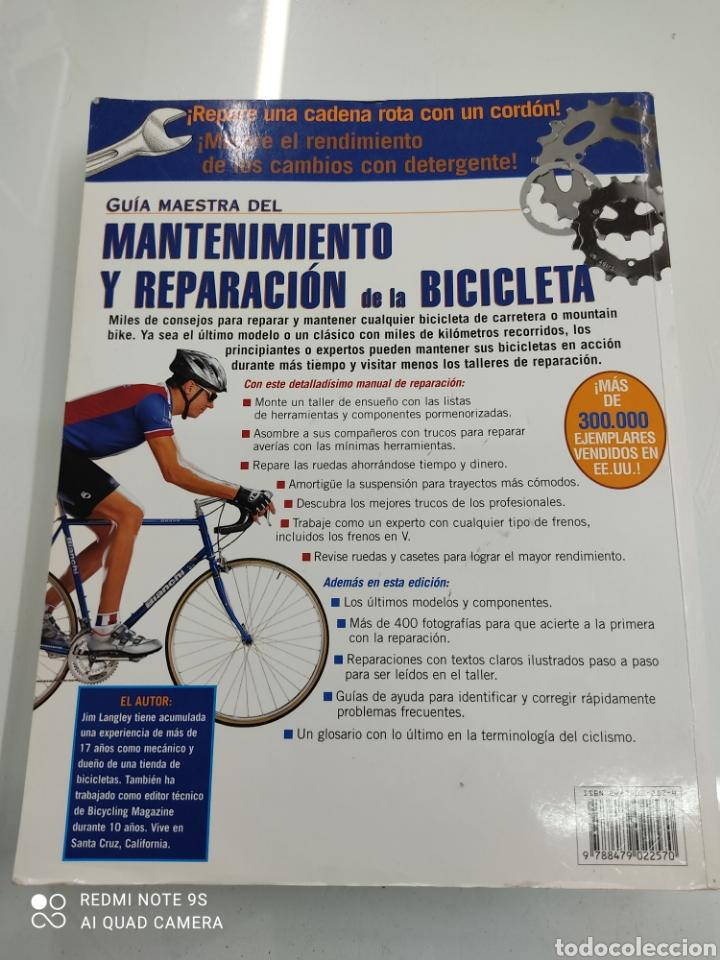 Coleccionismo deportivo: GUIA MAESTRA DEL MANTENIMIENTO Y REPARACION DE LA BICICLETA DE CARRETERA Y MOUNTAIN BIKE Jim Langley - Foto 3 - 265956593