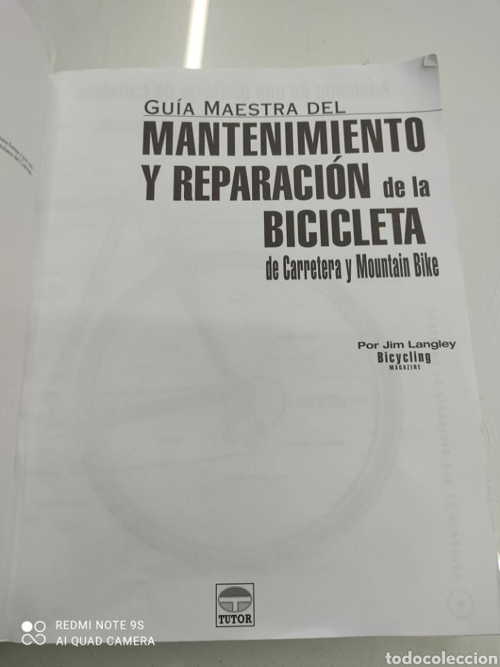 Coleccionismo deportivo: GUIA MAESTRA DEL MANTENIMIENTO Y REPARACION DE LA BICICLETA DE CARRETERA Y MOUNTAIN BIKE Jim Langley - Foto 4 - 265956593