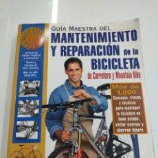 Coleccionismo deportivo: GUIA MAESTRA DEL MANTENIMIENTO Y REPARACION DE LA BICICLETA DE CARRETERA Y MOUNTAIN BIKE JIM LANGLEY. Lote 265956593