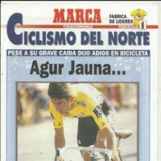 Colecionismo desportivo: CICLISMO DEL NORTE MARCA Nº8. Lote 266748903