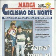 Colecionismo desportivo: CICLISMO DEL NORTE MARCA Nº15. Lote 266749958