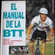 Coleccionismo deportivo: EL MANUAL DE LA BTT - ROB VAN DER PLAS - OTERO -. Lote 266929819
