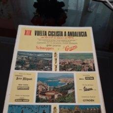 Coleccionismo deportivo: XIX VUELTA CICLISTA A ANDALUCÍA 1972. Lote 278691268