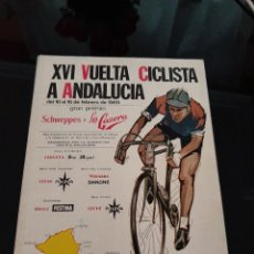Coleccionismo deportivo: XVI VUELTA CICLISTA A ANDALUCÍA 1969. Lote 278691773