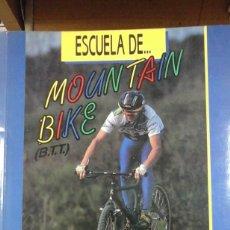 Coleccionismo deportivo: ESCUELA DE MOUNTAIN BIKE (BTT) (MADRID, 1991). Lote 279442433