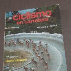 Coleccionismo deportivo: CICLISMO EN CARRETERA.......DANIEL CLEMENT.....1982.... Lote 284502213