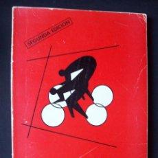 Coleccionismo deportivo: CICLISMO EN PISTA - DE JUAN CARLOS PÉREZ - 2ª EDICIÓN - AÑO 1976. Lote 287101513
