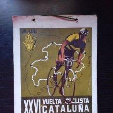 Coleccionismo deportivo: PROGRAMA XXVI VUELTA CICLISTA A CATALUÑA.VI GRAN PREMIO PIRELLI 1946. Lote 287218278