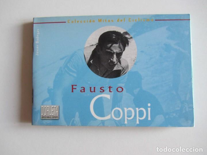 MITOS DEL CICLISMO 3. FAUSTO COPPI. LIBRITO 32 PAGS. + 10 POSTALES. (Coleccionismo Deportivo - Libros de Ciclismo)