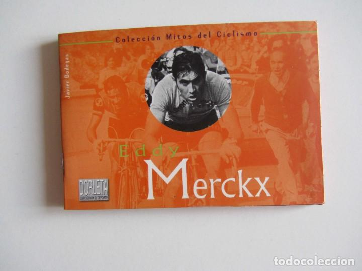 MITOS DEL CICLISMO 1 . EDDY MERCKX. LIBRITO 32 PAGS. + 10 POSTALES. (Coleccionismo Deportivo - Libros de Ciclismo)