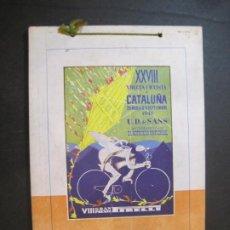 Coleccionismo deportivo: XXVIII VUELTA CICLISTA A CATALUNYA-VIII GRAN PREMIO PIRELLI-AÑO 1948-PROGRAMA CICLISMO-(K-4129). Lote 288699678