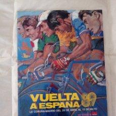 Coleccionismo deportivo: VUELTA A ESPAÑA 89. LIBRO OFICIAL ORIGINAL.. Lote 292063663