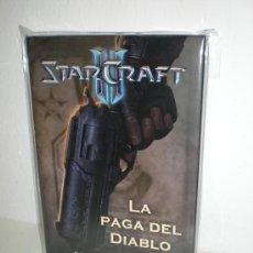 Libros: STARCRAFT II. LA PAGA DEL DIABLO (CARTONÉ) - CHRISTIE GOLDEN. Lote 27827606