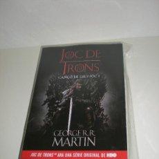 Libros: GEORGE R.R MARTIN - JUEGO DE TRONOS - JOC DE TRONS (CATALÁN) - ALFAGUARA. Lote 29548406