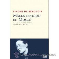 Libros: NARRATIVA. CIENCIA FICCIÓN. MALENTENDIDO EN MOSCÚ - SIMONE DE BEAUVOIR. Lote 42161656