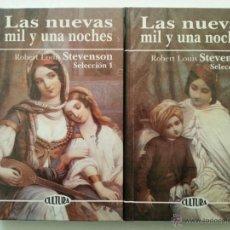 Libros: STEVENSON: LAS NUEVAS MIL Y UNA NOCHES I-II. EDICOMUNICACIÓN, 1999. Lote 47932743
