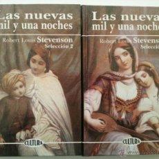 Libros: STEVENSON: LAS NUEVAS MIL Y UNA NOCHES I-II. EDICOMUNICACIÓN, 1999. Lote 47932810