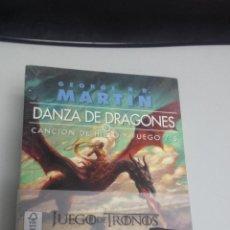 Libros: DANZA DE DRAGONES - CANCION DE HIELO Y FUEGO Nº 5 ¡ EDICION BOLSILLO 3 TOMOS - GEORGE R.MARTIN. Lote 48136002