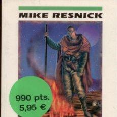 Libros: CIENCIA-FICCION.SANTIAGO. MIKE RESNICK. NOVA 95. EDICIONES B. PERFECTO ESTADO. Lote 96687668