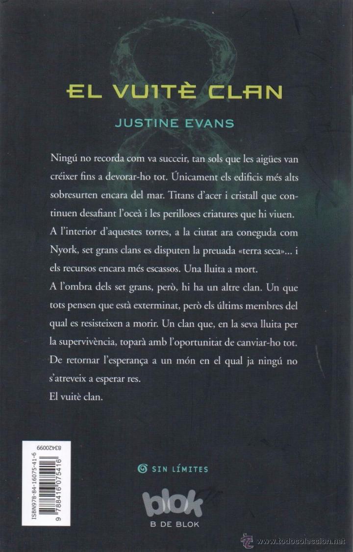 Libros: EL VUITE CLAN de JUSTINE EVANS - B DE BLOCK, 2015 - Foto 2 - 51623386