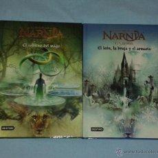Libros: LAS CRÓNICAS DE NARNIA. LIBROS 1 Y 2. Lote 53273105