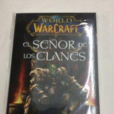 Libros: WORLD OF WARCRAFT. EL SEÑOR DE LOS CLANES (EDICIÓN RÚSTICA) - PANINI. Lote 30559536