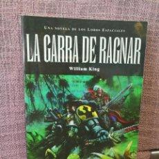 Libros: WARHAMMER 40000 TIMUN MÁS LA GARRA DE RAGNAR. Lote 155015970