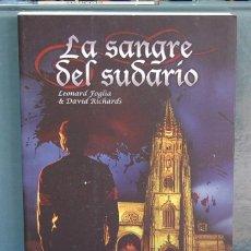 Libros: LA SANGRE DEL SUDARIO. LEONARD FLOGIA & DAVID RICHARDS. Lote 87436888