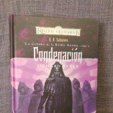 Libros: CONDENACIÓN REINOS OLVIDADOS . Lote 89456228