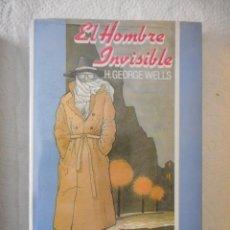Libros: EL HOMBRE INVISIBLE. H. GEORGE WELLS. JUVENIL P.P.P. NUEVO, SIN ABRIR. Lote 93369310