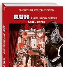 Libros: KAREL CAPEK,R.U.R. - ROBOTS UNIVERSALES ROSSUM. Lote 96328882
