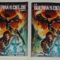 Libros: SAGA LA GUERRA DE LOS CIELOS POR FERNANDO TRUJILLO (INCLUYE 4 LIBROS). Lote 97648327