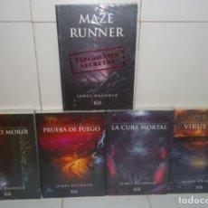 Libros: SAGA MAZE O RUNNER (CORRER O MORIR ) POR DASHNER, JAMES (5 LIBROS). Lote 97990575
