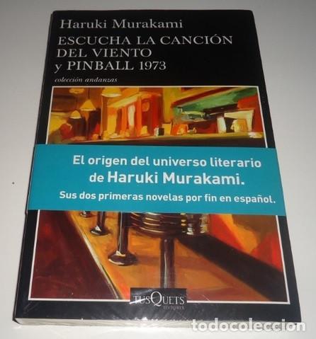 ESCUCHA LA CANCIÓN DEL VIENTO Y PINBALL 1973 POR HARUKI MURAKAMI (Libros Nuevos - Literatura - Narrativa - Ciencia Ficción y Fantasía)