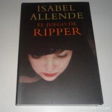 Libros: EL JUEGO DE RIPPER POR ISABEL ALLENDE. Lote 98367327