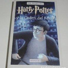 Libros: HARRY POTTER Y LA ORDEN DEL FÉNIX POR J. K. ROWLING. Lote 98640751