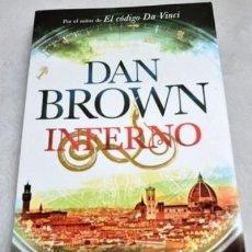Libros: INFERNO (ROBERT LANGDON) POR DAN BROWN. Lote 98641163