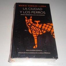 Libros: LA CIUDAD Y LOS PERROS: EDICION CONMEMORATIVA DEL CINCUENTENARIO TAPA DURA. MARIO VARGAS LLOSA. Lote 98691387