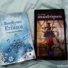 Libros: LIBROS LAURA GALLEGO LOTE LA EMPERATRIZ DE LOS ETEREOS MANDRAGORA. Lote 102392523