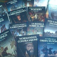 Libros: LIBROS OSPREY GRANDES BATALLAS HISTORIA 30 LIBROS TAPA DURA. Lote 102645807