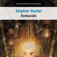 Libros: EVOLUCIÓN - STEPHEN BAXTER (LA FACTORÍA DE IDEAS, 2004) - ¡¡NUEVO!!. Lote 103326487