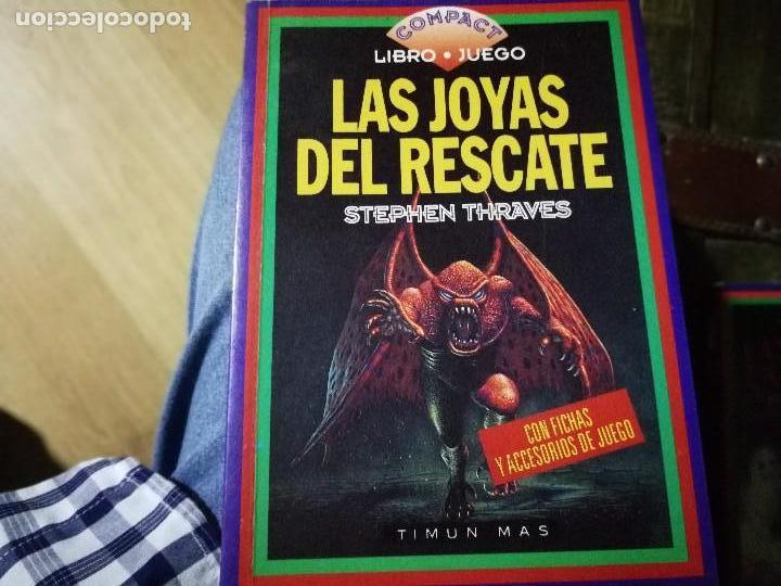 TIMUN MAS - COMPACT LIBRO JUEGO - LAS JOYAS DEL RESCATE (STEPHEN THRAVES) (Libros Nuevos - Literatura - Narrativa - Ciencia Ficción y Fantasía)