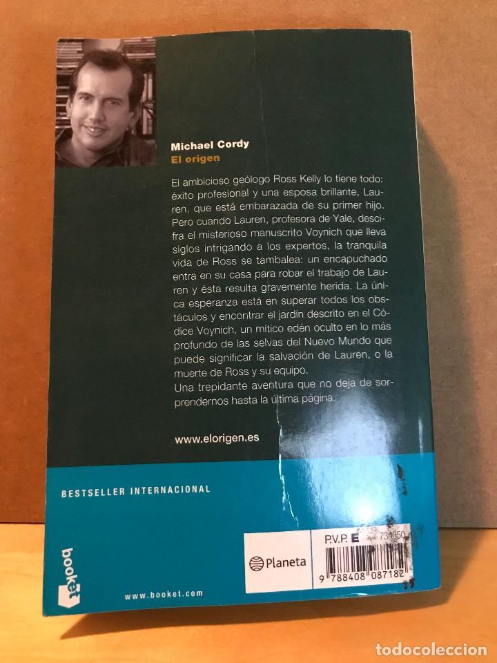 Libros: El Origen - Michael Cordy - Foto 2 - 111817639
