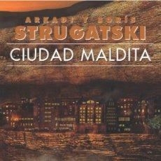 Libros: CIUDAD MALDITA. Lote 114892851