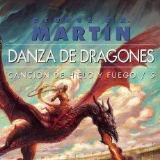 Libros: DANZA DE DRAGONES - JUEGO DE TRONOS. Lote 180602317