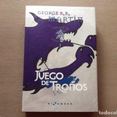 Libros: JUEGO DE TRONOS. CANCIÓN DE HIELO Y FUEGO - VOLUMEN 1 - EDICIÓN LUJO.. Lote 120722955
