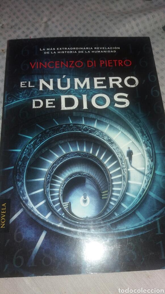 EL NÚMERO DE DIOS DE VINCENZO DI PIETRO (Libros Nuevos - Literatura - Narrativa - Ciencia Ficción y Fantasía)